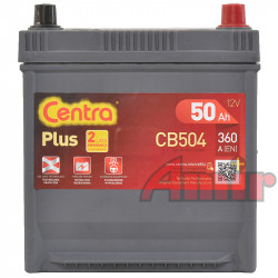 Akumulator Centra Plus - 12V 50Ah 360A CB504 JAPAN