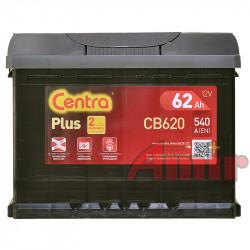 Akumulator Centra Plus - 12V 62Ah 540A CB620