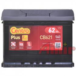 Akumulator Centra Plus - 12V 62Ah 540A CB621