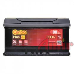 Akumulator Centra Plus - 12V 80Ah 700A CB802