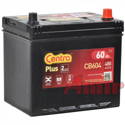 Akumulator Centra Plus - 12V 60Ah 390A CB604 JAPAN
