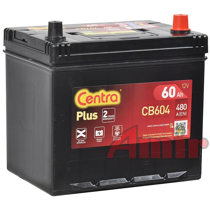 Akumulator Centra Plus - 12V 60Ah 390A CB604 JAPAN