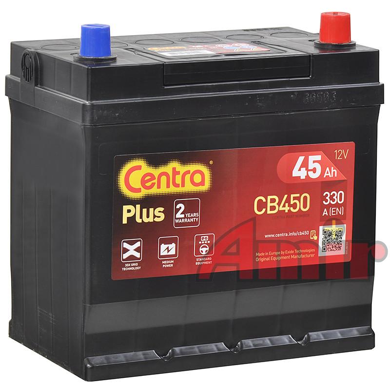 Akumulator Centra Plus - 12V 45Ah 330A CB450 JAPAN