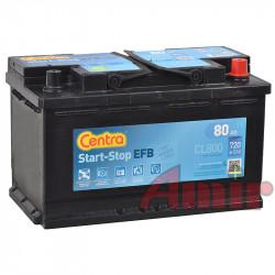 Akumulator Centra Start-Stop EFB - 12V 80Ah 720A CL800