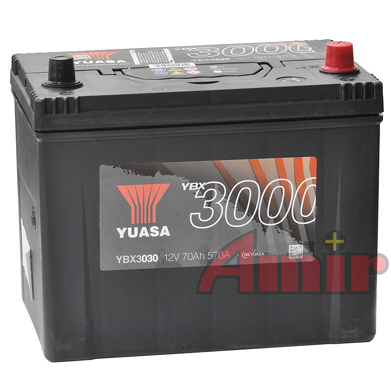 Akumulator Yuasa SMF - 12V 70Ah 570A YBX3033