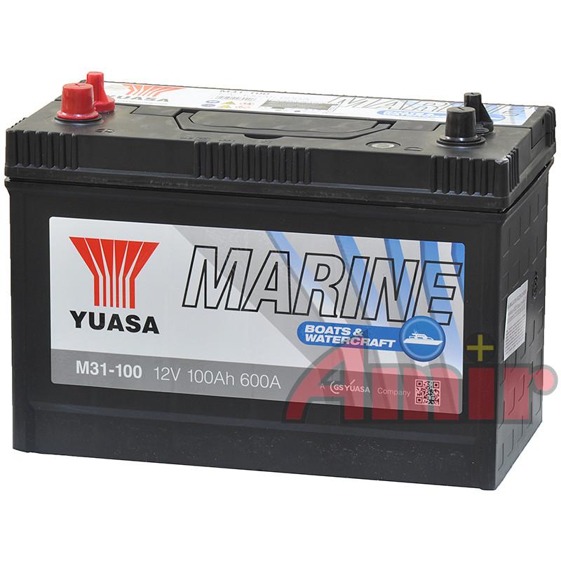 Akumulator Yuasa Active Marine - 12V 100Ah 800A M31-100