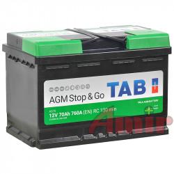 Akumulator TAB AGM Stop&Go...