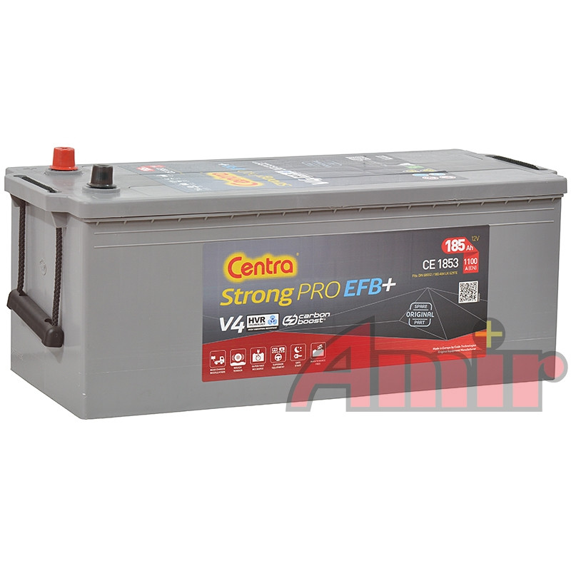 Akumulator Centra Strong PRO - 12V 185Ah 1100A CE1853