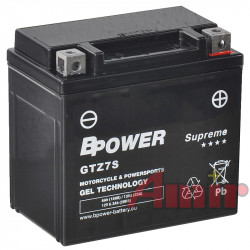 Akumulator BPower GTZ7S...