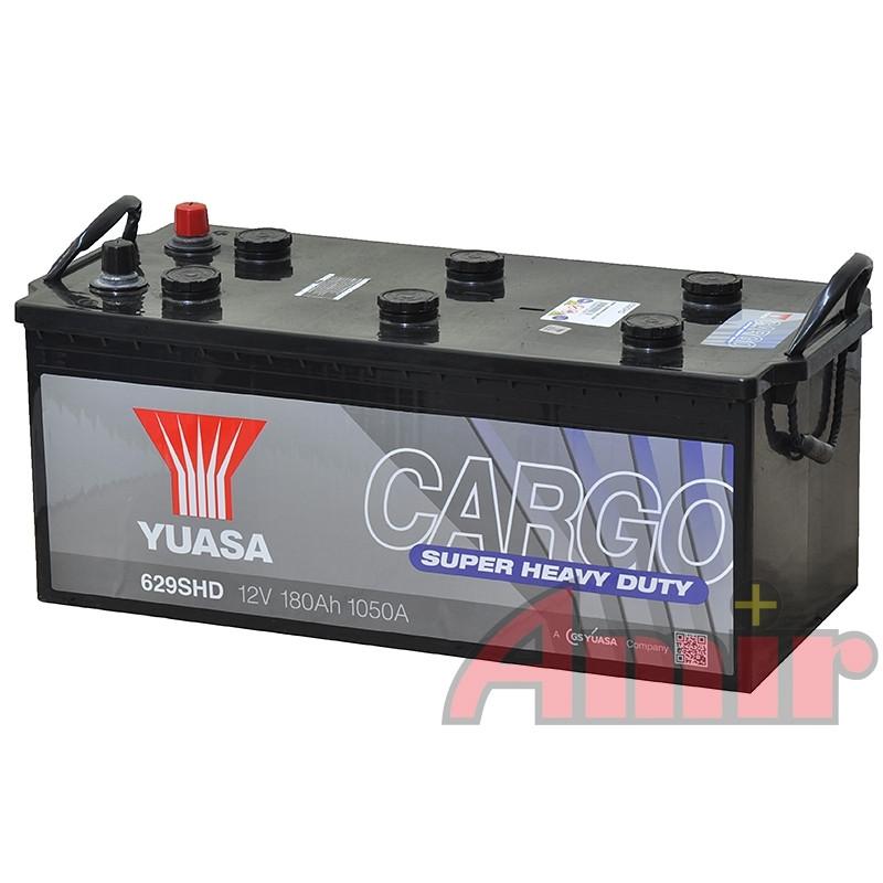 Akumulator Yuasa Cargo 629SHD - 12V 180Ah 1050A