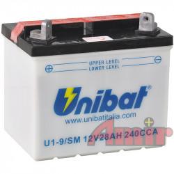 Akumulator Unibat - 12V...
