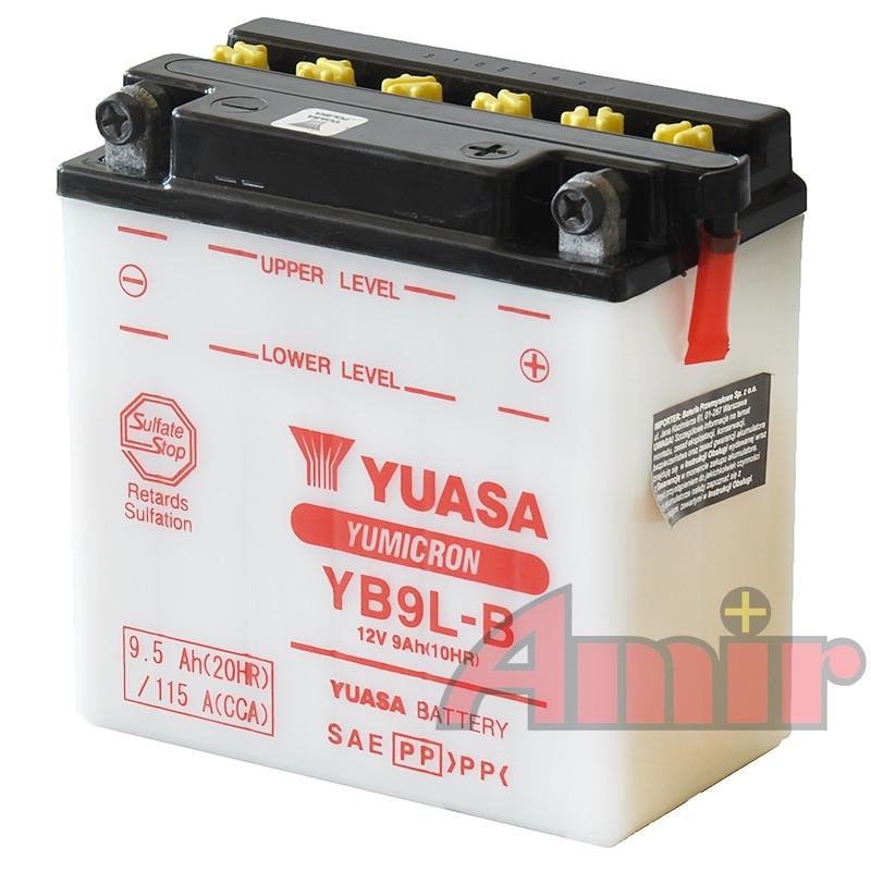 Akumulator Yuasa YB9L-B - 12V 9Ah 115A
