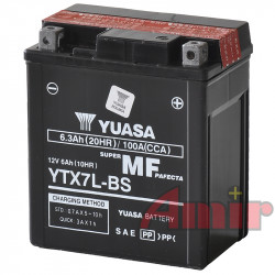 Akumulator Yuasa YTX7L-BS - 12V 6Ah 100A