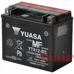 Akumulator Yuasa YTX12-BS - 12V 10Ah 180A
