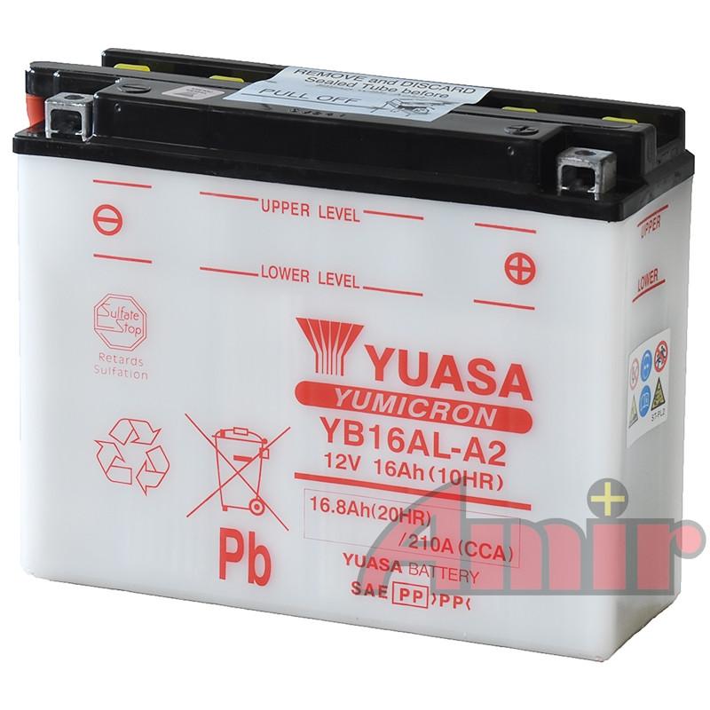 Akumulator Yuasa YB16AL-A2 - 12V 16Ah 210A