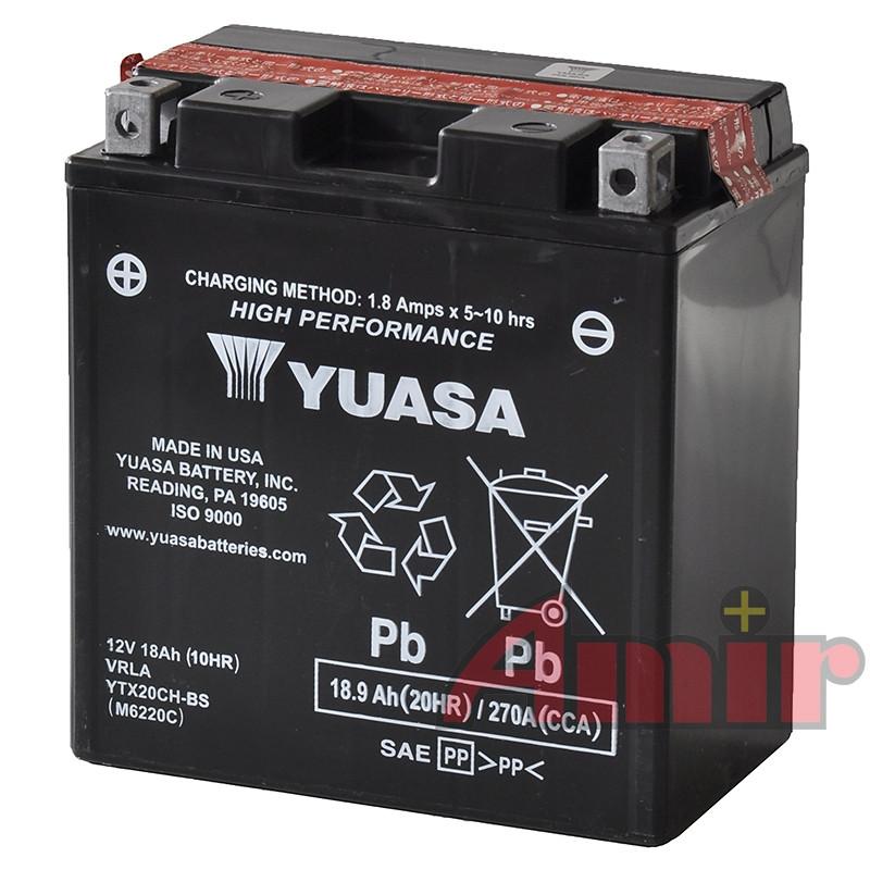 Akumulator Yuasa YTX20CH-BS - 12V 18Ah 270A