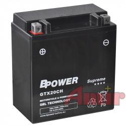 Akumulator BPower GTX20CH...