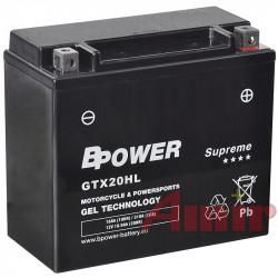 Akumulator BPower GTX20HL -...