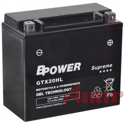 Akumulator BPower GTX20HL...
