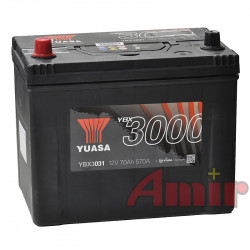 Akumulator Yuasa SMF - 12V 70Ah 570A YBX3031