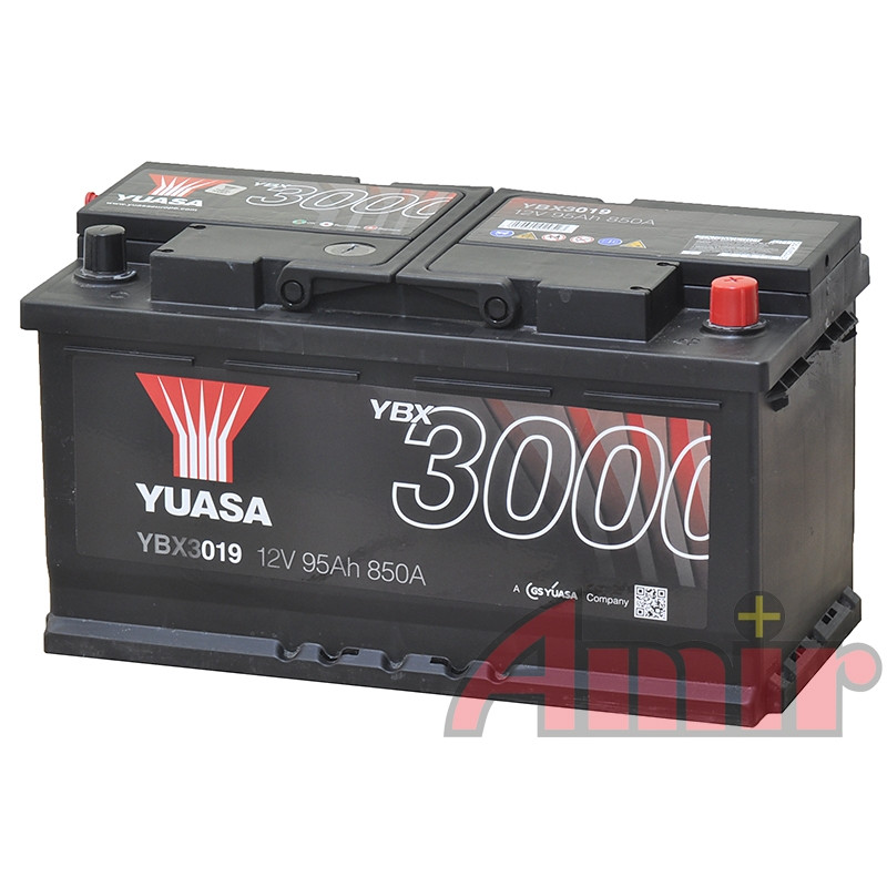 Akumulator Yuasa SMF - 12V 71Ah 650A YBX3100