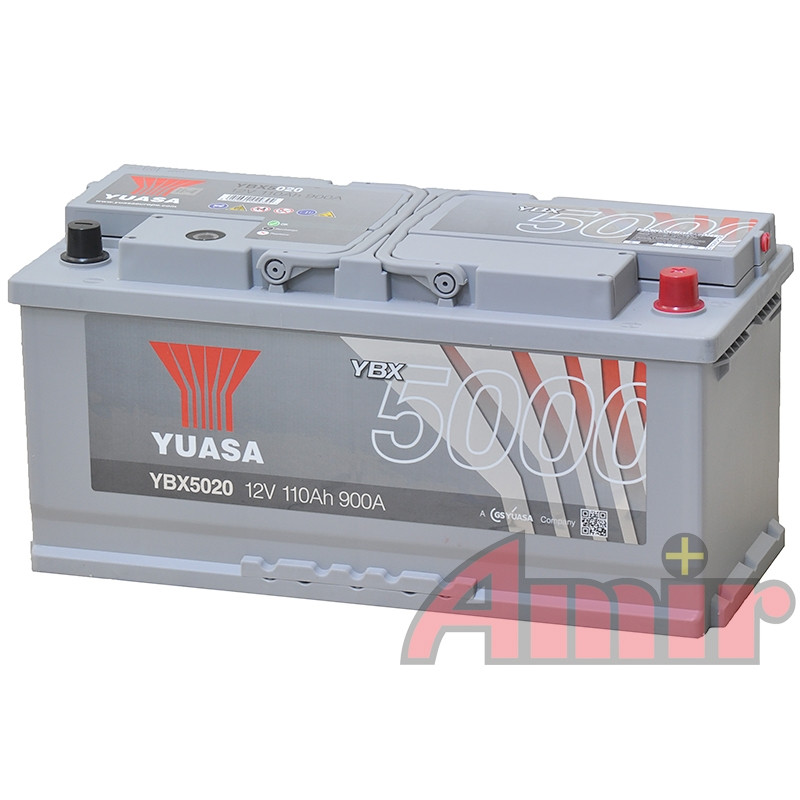 Akumulator Yuasa Silver - 12V 110Ah 900A YBX5020