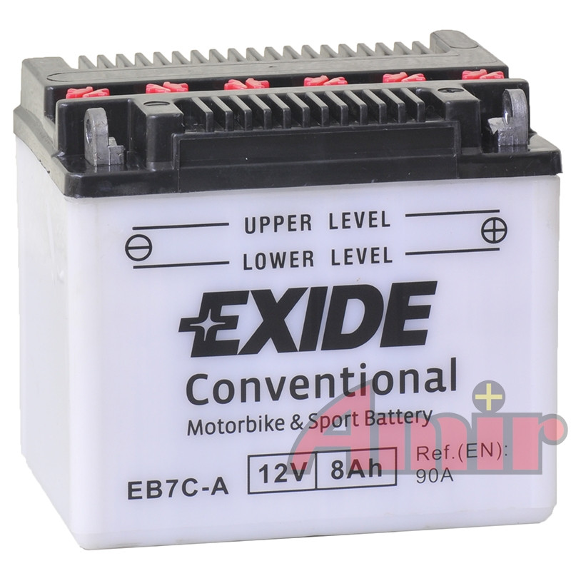 Akumulator Exide Bike EB7C-A - 12V 8Ah 90A YB7C-A