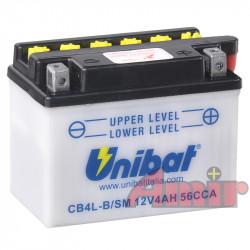 Akumulator Unibat CB4L-B -...