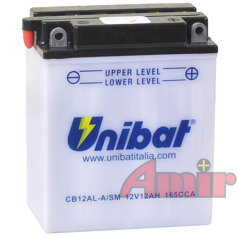 Akumulator Unibat CB12AL-A - 12V 12Ah 165A