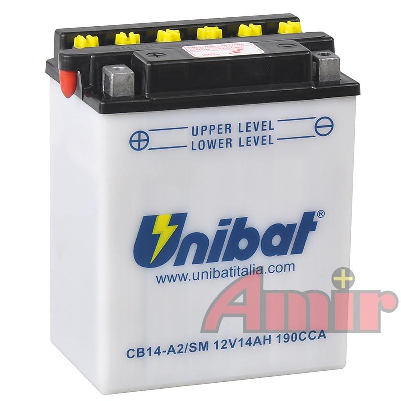 Akumulator Unibat CB14-A2 - 12V 14Ah 190A