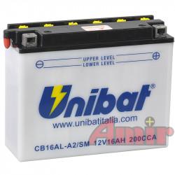 Akumulator Unibat CB16AL-A2 - 12V 16Ah 200A